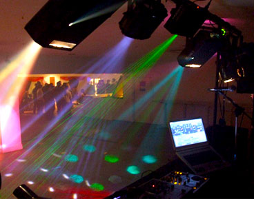 hire out a mobile disco company for a party in Norwich