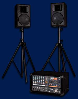 pa system and amp for hire in the Norwich area